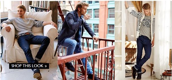 Tommy.com – anvender 'shop the look' til sammensætning af varer fra hele sortimentet